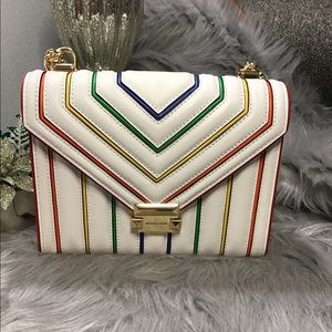 Michael Kors rainbow crossbody